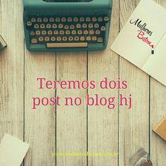 Meninas não deixem de visitar o nosso blog hj! Pois estarei liberando dois post hj e teremos post a semana toda!  #blog #post #atualizado #dicas #estética #beleza #cuidados #pele