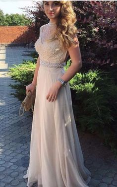 Prom Dresses Elegant, 2020 Cheap Princess/A-Line Champagne Chiffon Beaded Prom Dresses, Mermaid prom dresses, two piece prom gowns, sequin prom dresses & you name it - our 2020 prom collection has everything you need! Sequin Prom Dresses, High Low Prom Dresses, Chiffon Evening Dresses, Beaded Prom Dress, Plus Size Prom Dresses, Backless Prom Dresses, Black Prom Dresses, Formal Dresses For Women, Mermaid Prom Dresses