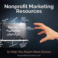 Help You Reach More Donors Nonprofit Marketing Nonprofit Free Marketing Resources Marketing Software, Marketing Tools, Non Profit Marketing, Online Marketing, Media Marketing, Nonprofit Fundraising, Fundraising Events, Email Providers, Grant Writing