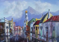 Buy Images near the old District Six x x for Buy Images, South Africa, Buildings, Old Things, Paintings, Art, Art Background, Paint, Painting Art