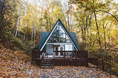"""A-frame home in the Smokies. Go to http://iBoatCity.com and use code PINTEREST for free shipping on your first order! (Lower 48 USA Only). Sign up for our email newsletter to get your free guide: """"Boat Buyer's Guide for Beginners."""""""