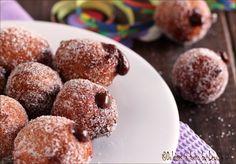 Castagnole+alla+nutella,+ricetta+di+Carnevale