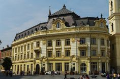 Art And Architecture, Romania, Travel Photography, Louvre, Mansions, House Styles, City, Building, Places