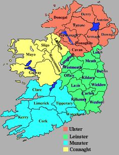 Map Of Counties In Ireland This County Map Of Ireland Shows All - Google map us population density map by county