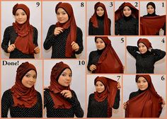 how to wear a veil