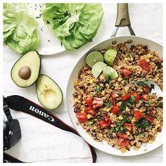Quinoa Black Bean Ta