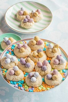 Galletas nido para Pascua Edible Art, Chocolate, Cereal, Blog, Easter, Cookies, Breakfast, Cup Cakes, Easter Cookies