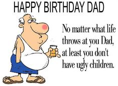 Download Happy Birthday Dad Funny Images Quotes Diy Cards For