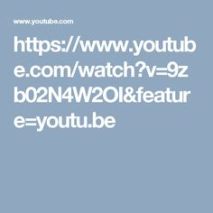 https://www.youtube.com/watch?v=9zb02N4W2OI&feature=youtu.be
