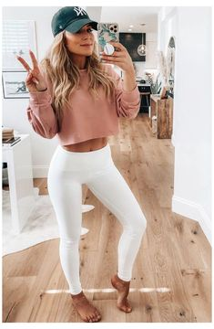 Casual Summer Outfits For Women, Classy Outfits, Outfits For Teens, Casual Outfits, Cute Outfits, Fashion Outfits, Gym Outfits, Outfit Summer, Athletic Outfits