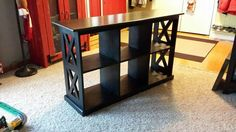 """""""X"""" console table"""