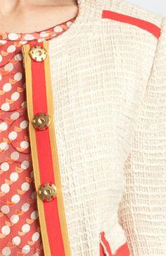 Tory Burch 'Farrow' Tweed Jacket