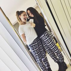 BFF goals and style icons... Jill Cimorelli and Tara Massicotte