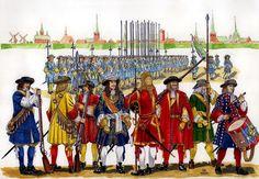 Dutch Infantry, 1675.
