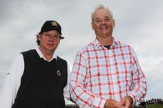 Bill Murray/Joel Murray Photos - Irish Open - Previews