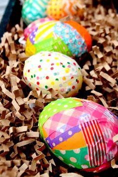 Eye Candy Creative Studio: {CRAFTY TIP TUESDAY} Washi EASTER Eggs