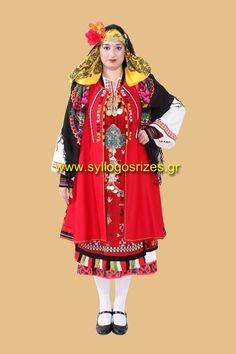 """Παραδοσιακές Ενδυμασίες- Λαογραφικός Σύλλογος """"Ρίζες""""   www.syllogosrizes.gr Ενημερωθείτε για την μεγαλύτερη ιματιοθήκη ελληνικών παραδοσιακών φορεσιών στην Ελλάδα Greek Traditional Dress, Folk Dance, Greece, Costumes, Folklore, Clothes, Projects, Fashion, Greece Country"""