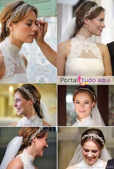 """Vestido de noiva de Paloma, para a novela """"Amor à Vida"""""""
