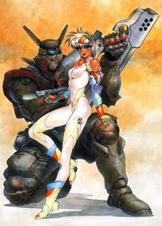 Appleseed one of the most innovative manga and anime series in Japan. Check out both movies especially Appleseed  Ex Machina produced by action movie legend John Woo.  Now at Anime Superhighway http://www.tomatovision.bravehost.com/Anime.html