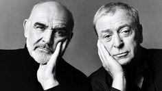 Sean Connery & Michael Caine