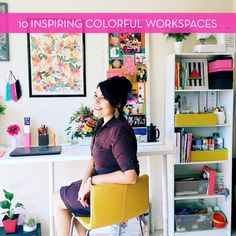 Roundup: 10 Inspiring Colorful Workspaces