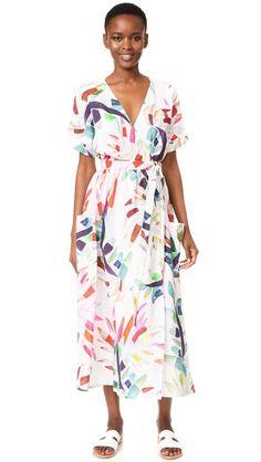 Mara Hoffman Maxi Wrap Dress | SHOPBOP