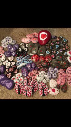 163 rocks for Valentines Day drop!!! FB: Cloverdale CA Rocks -or- FB: 707 Rocks!!!