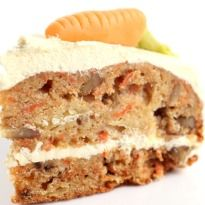 Atta Carrot Cake Recipe - The maida has been substituted with whole wheat flour in this version of the carrot cake. With walnuts and carrots this cake recipe is a delicious option as a wholesome evening treat.