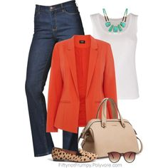 """Blazers Elevate"" by fiftynotfrumpy on Polyvore"