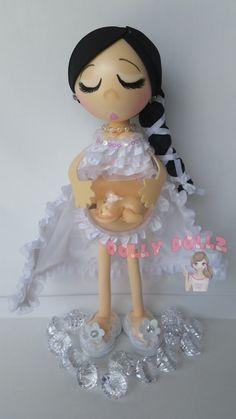Muñeca embarazada de Mommie arte muñecas muñecas de por DollyDollz