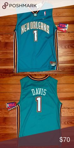 Nike Baron Davis New Orleans Hornets NBA Jersey Youth Large ba827ac74