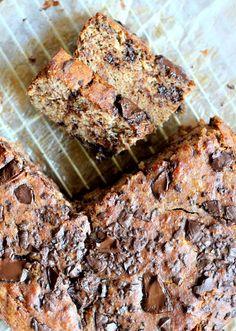 1. Paleo Chocolate Chunk Banana Bread #paleo #breakfast #recipes http://greatist.com/eat/paleo-breakfast-recipes