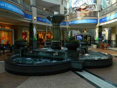 fountain at the King of Prussia Mall in King of Prussia, PA King Of Prussia Mall, Dead Malls, Fountain, Mansions, Architecture, House Styles, Memories, Kids, Home Decor