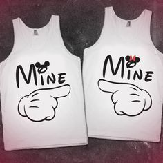 Cute Boyfriend and Girlfriend shirts- Maybe for the Summer or spring depending how hot it is? Matching Couple Shirts, Matching Couples, Matching Outfits, Cute Couples, Matching Clothes, Disney Couples, Couple Outfits, Disney Outfits, Bae