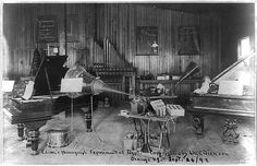 Compare how you listen to music to Edison's first phonograph.