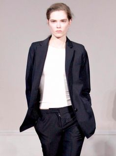Young British Designers: Boy Blazer by J.W.Anderson - Laconic androgynous style in a perfect blazer. From J.W.Anderson.
