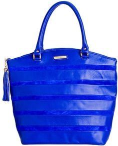 Jane Tote - Blue By Elizabeth Laine Bags $525.00