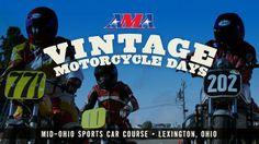 MA Vintage Motorcycle Days at Mid-Ohio Sports Car Course http://esr.cc/19YLPMJ