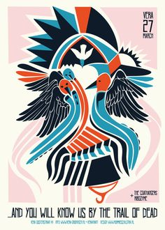Gigposters by Rommie Schilstra, via Behance