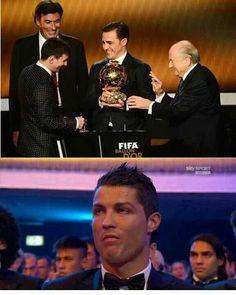 Ronaldo ain't even mad..