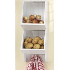 Onion potato bin