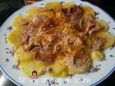 No soy un blog de cocina: LACÓN CON PATATAS