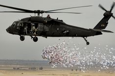 Helicopter uh-60 Black Hawk