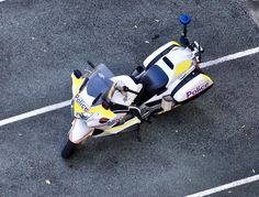 https://flic.kr/p/YKxZ9J | Queensland Police Honda bike,