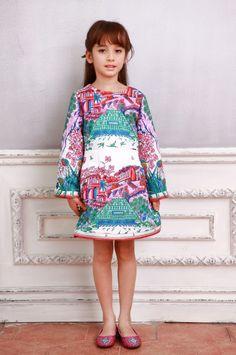 Весна девушка платье 2016 модель детские платье принцессы для девочек добби детей vestidos