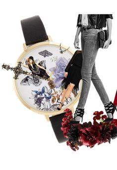 """Time Traveler"" #Fashion meets #Art"