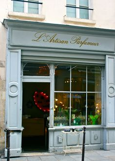Perfume shop in Paris - my favourite scents are from here.