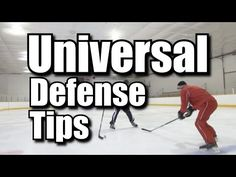3 Universal Defensive Hockey Tips - YouTube