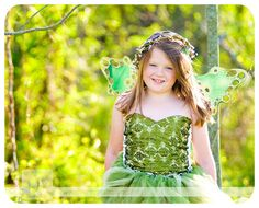 Woodland Fairy in Green corset and skirt by enchantedfairyware, $150.00