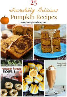 25 Incredibly Delicious Pumpkin Recipes